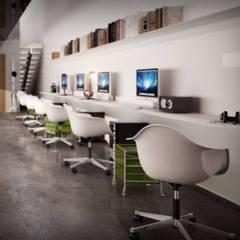 BA DESIGN – office: minimal tarz tarz Çalışma Odası