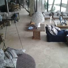 客廳 by CAMASA Marmores & Design, 地中海風