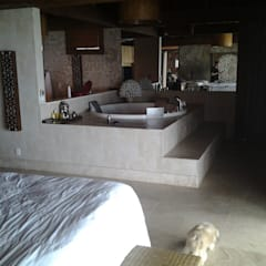 Casa em Angra dos Reis - RJ: Quartos  por CAMASA Marmores & Design,Mediterrâneo