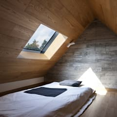 Jeju stay BIUDA: ARCHITECT GROUP CAAN의  침실