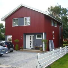 Der moderne Sognefjord:  Häuser von Akost GmbH  'Ihr Traumhaus aus Norwegen'