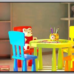 Детская комната для 2-хлетней малышки: Детские комнаты в . Автор – Мастерская дизайна  LOFT,