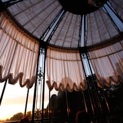 atlas perdecilik – kışbahçesi&çatı: rustik tarz tarz Kış Bahçesi