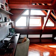 Study/office by ArchDesign STUDIO, Rustic