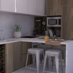 Kitchen by Santiago | Interior Design Studio , Eclectic