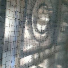 Laminated Glass Art Panels in Beijing W Hotel:  Hotels by ShellShock Designs