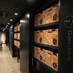 Gonshiro Office renovation: INTERFACEが手掛けたオフィスビルです。