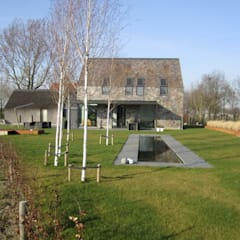 woning T/V Den Hout: moderne Huizen door BB architecten