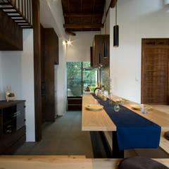 آشپزخانه توسط森村厚建築設計事務所