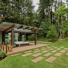 Rustic style spa by Espaço do Traço arquitetura Rustic