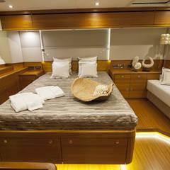 Luxe Zeiljacht:  Jachten & jets door Interieurvormgeving Inez Burvenich