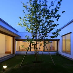 松原建築計画 / Matsubara Architect Design Office의  정원, 북유럽