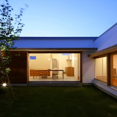 Jardines de estilo escandinavo por 松原建築計画 / Matsubara Architect Design Office