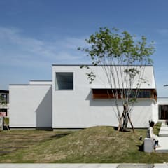 Casas de estilo  por 松原建築計画 / Matsubara Architect Design Office