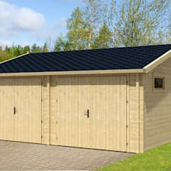Prefabricated Garage by BRICOJARDIN ON LINE SLU, Country