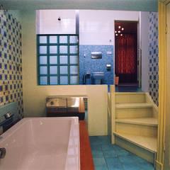 De badkamer: eclectische Badkamer door ABC-Idee