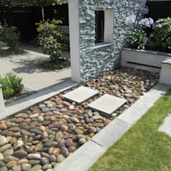 حديقة تنفيذ Linsey Evans Garden Design, حداثي