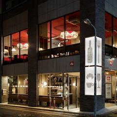 miyamasu' bar&dine: BaNANA OFFICE INC.が手掛けたレストランです。,インダストリアル