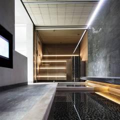 สปา โดย KleurInKleur interieur & architectuur, มินิมัล