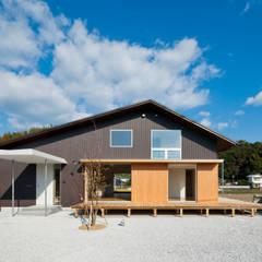 Casas de estilo  por キリコ設計事務所