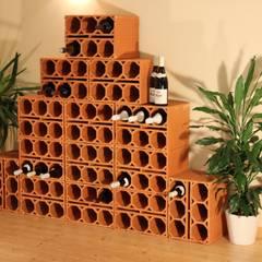 Weinlagersteine aus Ton:  Weinkeller von Rimini Baustoffe GmbH