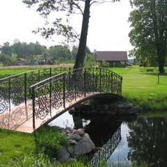 Dom na wsi: styl , w kategorii Ogród zaprojektowany przez Piekarek Projekt-Paweł Piekarek