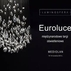EUROLUCE międzynarodowe targi oświetleniowe : styl , w kategorii Centra wystawowe zaprojektowany przez Luminosfera