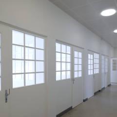 Sanierung und Wiederherstellung historischer Gänge:  Krankenhäuser von Architekt Adrian Tscherteu