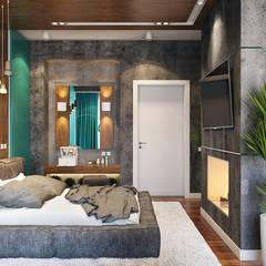 اتاق خواب by студия визуализации и дизайна интерьера '3dm2'