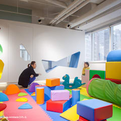 Babysteps Playgroup, HK:  Schools by atelier blur / georges hung architecte d.p.l.g., Modern
