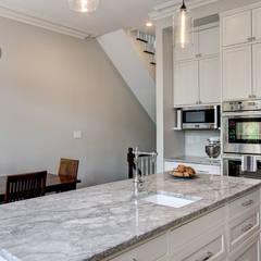 Park Slope Brownstone 3:  Kitchen by Ben Herzog Architect