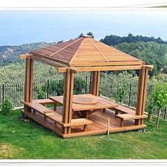 Terrace by homify, Rustic