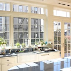 Brooklyn Heights Addition:  Kitchen by Ben Herzog Architect