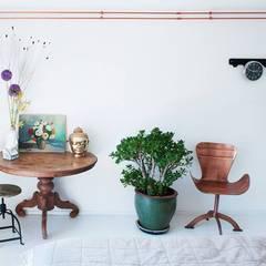 koperen buizen Moderne slaapkamers van IJzersterk interieurontwerp Modern