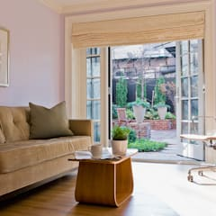 Brooklyn Heights Addition:  Living room by Ben Herzog Architect
