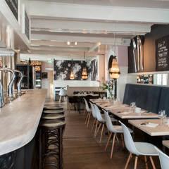 restaurant de Wandelaar in Haarlem:  Gastronomie door IJzersterk interieurontwerp