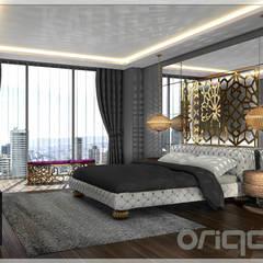 Origami Mobilya – Yatak Odası Tasarımı:  tarz Yatak Odası
