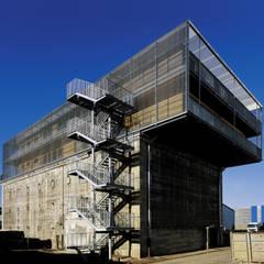 Perspektive von Süden:  Museen von INDEX Architekten Prof. Ulrich Exner + Sigrun Musa