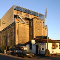 Perspektive von Westen:  Museen von INDEX Architekten Prof. Ulrich Exner + Sigrun Musa