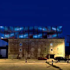 Ansicht von Norden bei Nacht:  Museen von INDEX Architekten Prof. Ulrich Exner + Sigrun Musa