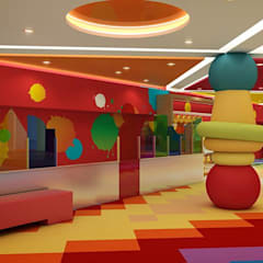 Kids Club:  Bars & clubs by EVGENY BELYAEV DESIGN