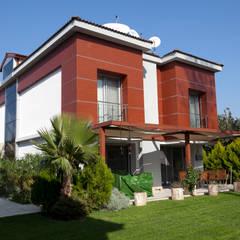 بالکن،ایوان وتراس by Mimkare İçmimarlık Ltd. Şti.