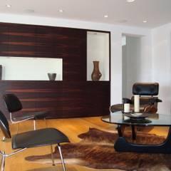 Villa AG11:  Multimedia-Raum von Firmhofer + Günther Architekten