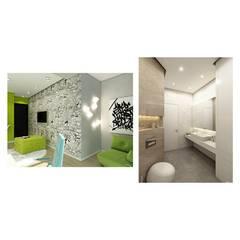 Apartment in Tomsk:  Study/office by EVGENY BELYAEV DESIGN