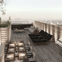 NATURAL LIGHT DESIGN STUDIO – Authentic Lofts:  tarz Teras