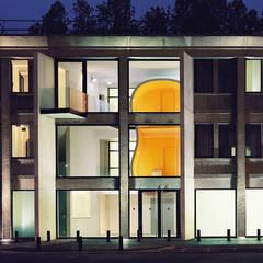 Pépinière d'entreprises G5: Palais des congrès de style  par DK ARCHITECTES
