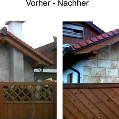 Vorher - Nachher:  Garage & Schuppen von Peter Böhringer Art Design