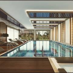 Nuevo Tasarım – Klasik villa projesi:  tarz Havuz