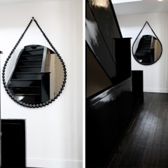 Bead Mirror (project):  Gang en hal door Vroonland