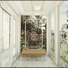 Nuevo Tasarım – Klasik villa projesi:  tarz Teras